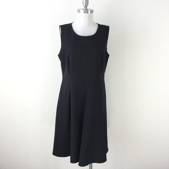 Dkny Dresses & Skirts - DKNY Donna Karan 14 Black Seamed Panel dress